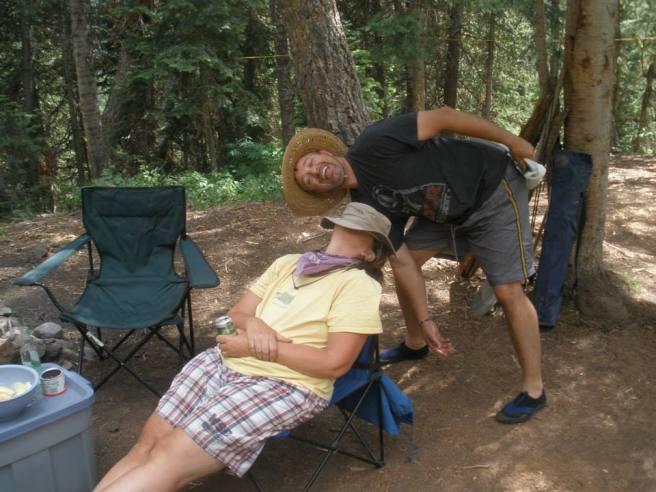 Doug! Knock it off! I'm trying to sleep!