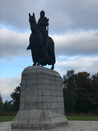Larger than life, Robert the Bruce